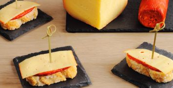 Tapas with Mahon cheese