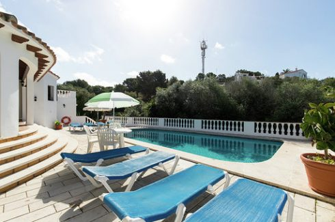 Casa Maeso San Jaime, Son Bou pool and sunbeds